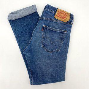 High Waisted Vintage 501 Levi's Mom Jeans